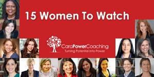 15 Women To Watch